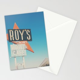Roys Motel & Cafe ... Stationery Cards