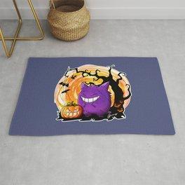 Happy Halloween Gengar Rug