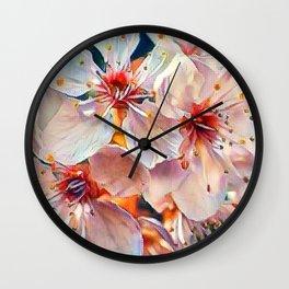 Aquarell floral 07 Wall Clock