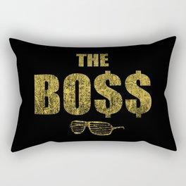 The Bo$$ Rectangular Pillow