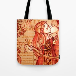 Alls Well That Ends Well - Romantic Shakespeare Folio Illustration Tote Bag