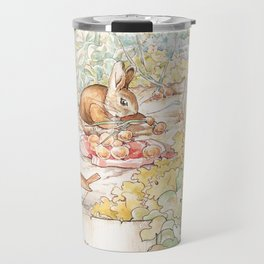 The World of Beatrix Potter illustration Travel Mug