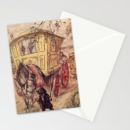 Arthur Rackham - The Wind in the Willows (1940) - The Gypsy Wagon Stationery Cards