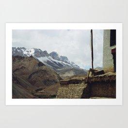 Lamayuru (Ladakh, India) Art Print