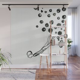 Diver 1 Wall Mural
