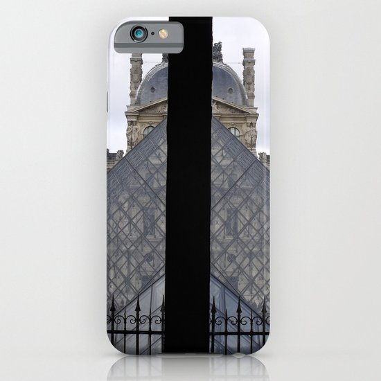 Louvre Pyramid iPhone & iPod Case