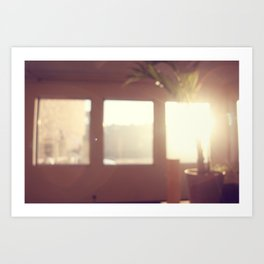 view from my window . ii Art Print