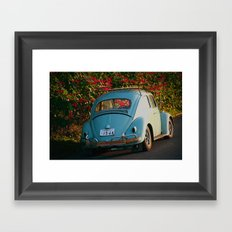 Punch Bug Framed Art Print