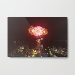 Canada Day. Metal Print