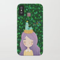 birdy iPhone & iPod Cases featuring Birdy by chicapato
