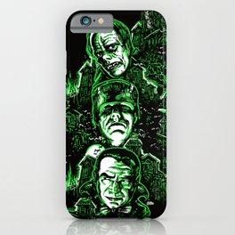 House of Monsters Phantom Frankenstein Dracula classic horror iPhone Case