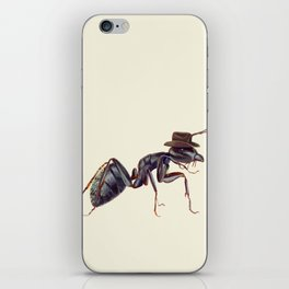 Ant with a Cowboy Hat iPhone Skin