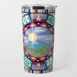 Colours of Australia Travel Mug