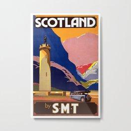 Vintage poster - Scotland Metal Print