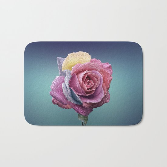 pastel rose Bath Mat