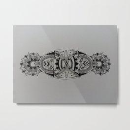 creative mandala Metal Print