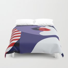 American Stewardess Duvet Cover