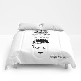 Keep Calm - Get Your Bun Up Comforters