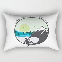 Nothing above Passion Motivation sentence Rectangular Pillow