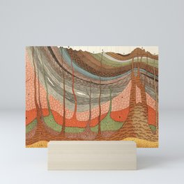 Geology Chart Mini Art Print