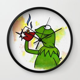 That's none of my business Wall Clock