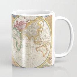 1794 Vintage World Map Samuel Dunn Coffee Mug