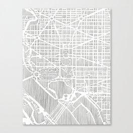 DC city print Canvas Print