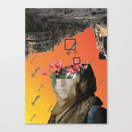Flower of Syria Canvas Print