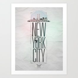 My City Art Print