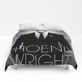 Phoenix Wright - 10th Anniversary Print Comforters