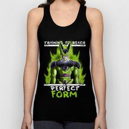 Training to reach pefect form - Cell Unisex Tank Top