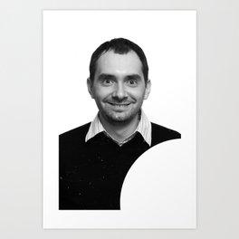 passport photo Art Print