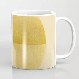 Black and Gold Circle 03 Coffee Mug