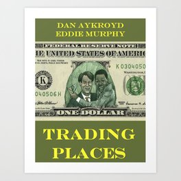 Trading Places Art Print