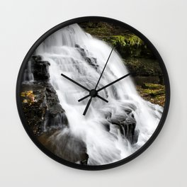 Waterfalls Landscape Wall Clock