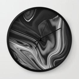 LAVA - BLACK Wall Clock