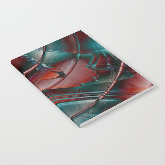 Multicolored abstract 2016 / 002 Notebook
