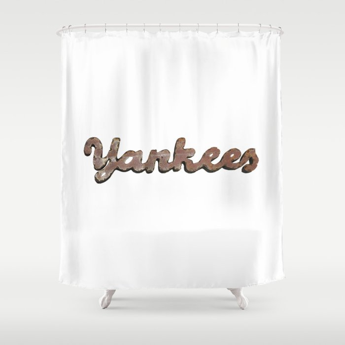 Yankees Shower Curtain By Reddax
