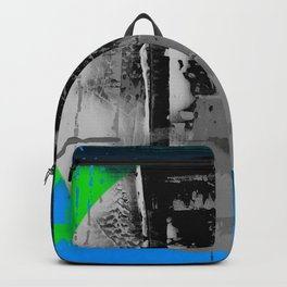 Color Chrome - B/W graphic Backpack