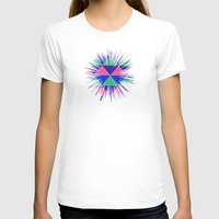 triangles T-shirts featuring Triangles by Marjolein