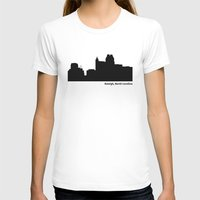 north carolina T-shirts featuring Raleigh, North Carolina by Fabian Bross