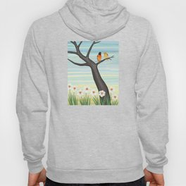 Orioles and daffodils Hoody