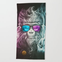 Smoky Beach Towel