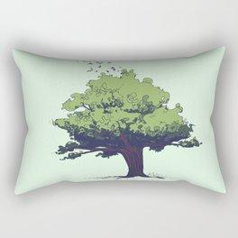 Arbor Vitae - Tree of Life Rectangular Pillow