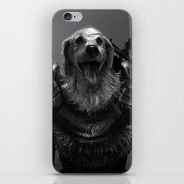 Lord Pup of Caninia iPhone Skin