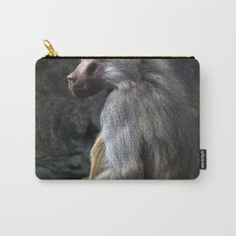 OLIVE BABOON Carry-All Pouch