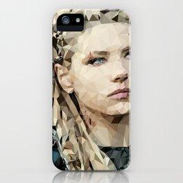 Lagertha Shieldmaiden iPhone Case