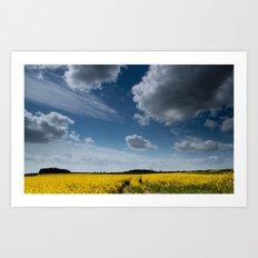 Blue Sky Thinking Art Print