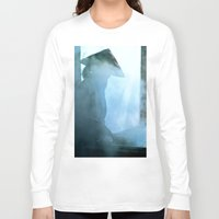 vietnam Long Sleeve T-shirts featuring Rice paper production of  Vietnam by CAPTAINSILVA