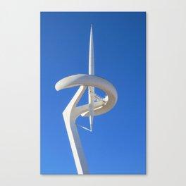 Montjuïc Communications Tower by Santiago Calatrava Canvas Print